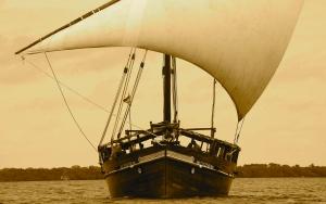 Tusitiri sailing