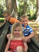 3 in a hammock