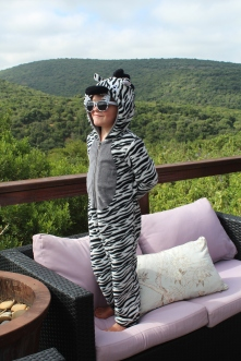 Not sure the zebra camoflauge is that convincing