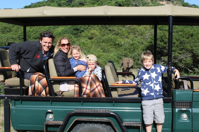 Anita's South African family adventure