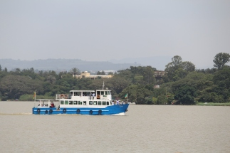 Boat cruise on Lake Tana